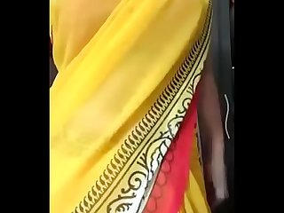 Desi tamil Gf in saree seduces BF stripping milf - desiunseen.net