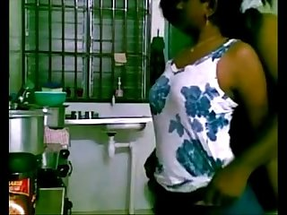 Desi brother in law fuck sister in law in kitchen more at www gspothub com