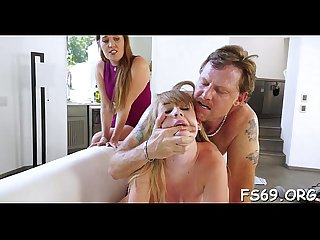 Wench rides her cousin S dick