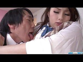 Runa ayase schoolgirl in heats enjoys teacher boxvl s dick