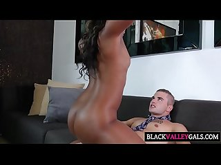 Sexy Brunch With Hot Black Girl Chanell Heart