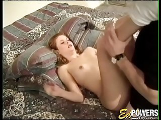 EDPOWERS - Nubile debutante Monti penetrated after oral sex