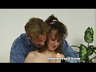 Dirty mature milf bitch saggy tits taking a hard young cock deep in juicy cunt