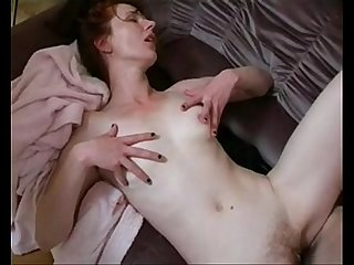 Lana redhead russian milf with younger guy