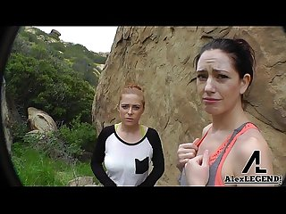 Hottest hiking 3some alex legend fucks sarah shevon penny pax