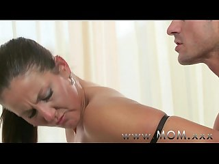 Mom brunette milf s having a good time