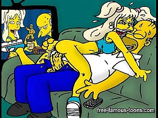 simpsons Hentai Orgie