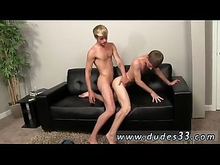 Gay emo Twinks shaved gage anderson and kellan lane squad up to give