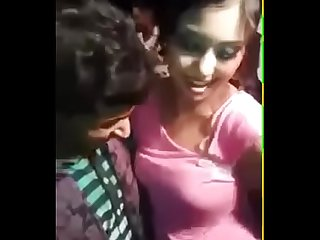 Indian couple outdoor romance of Jyoti - Indian girl hidden hard fuck hardcore