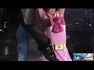 Japanese Heroine Pink Ribbon Torture by evil alien (Watch Full At tentaclehentai.net..