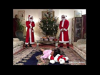 Santa Gangbang Claus with Nathalie