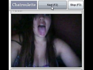 Crazy girl from texas want suck my cock and show big boobs on chatroulette