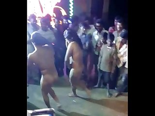 Indian females paid and nude dance show period ganu