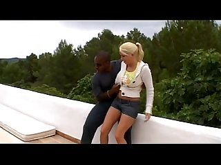 Interracial anal party for a real bitches on xtime tv