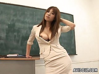 Hot busty ai kurosawa dirty teacher with huge tits excl