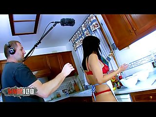 Asian milf gets your ass and pussy distroyed in the kitchen