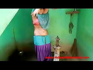 Newly married indian wife outdoor shower indianhiddencams period com