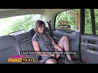 Female fake taxi double dildo multiple orgasms hot strap on action