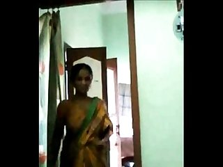 Naughty Bengali Aunty Rubbing Pussy in Happiness-Must Watch
