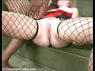 Cathys flowing cum Creampie
