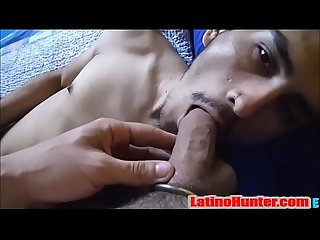 Hairy Straight Latino Fucked for the cash