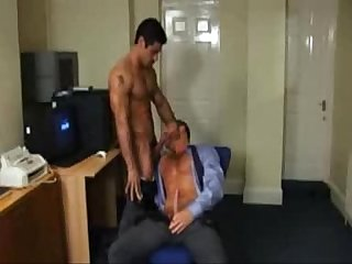 Daniel sucking on dads cock