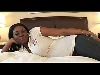 Black lady fuck with white dick in hardcore black porn