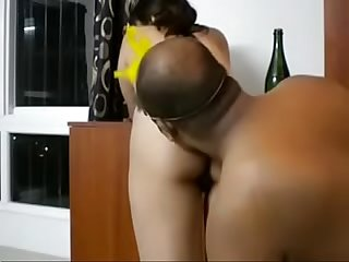 Bhabhi ass tastes best with champagne