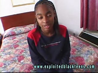 Ebony black teen angie lita