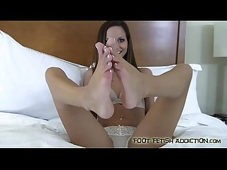 Let me give you an incredible footjob
