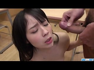 Brunette babe with amazing ass ruka kanae fucked well