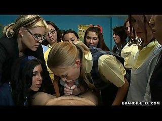 Schoolgirl suck off brandi belle