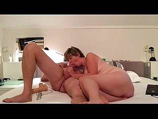 Wife fucks on real homemade video