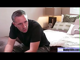 Sex Tape With Gorgeous Busty Hot Housewife (Veronica Rayne) video-30