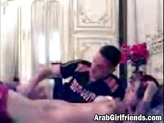 Arab couple turns sensual foreplay into awesome sex