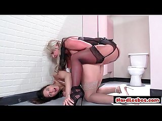 Big tit lesbian babes in hardcore fuck video porn sex 02