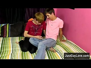 Sexy gay James Redding is definitely nervous going into his first